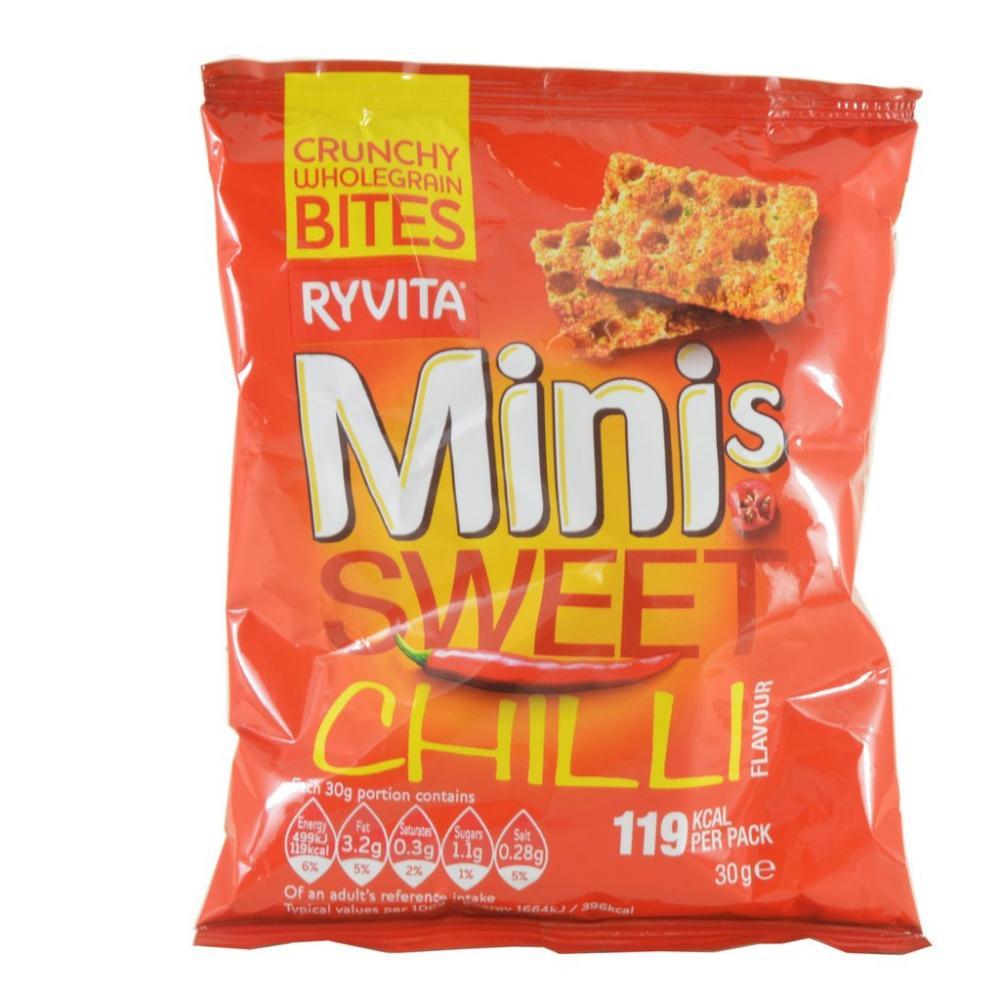 Ryvita Minis Sweet Chilli Flavour 30g