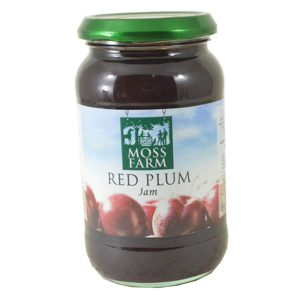 Moss Farm Red Plum Jam 454g
