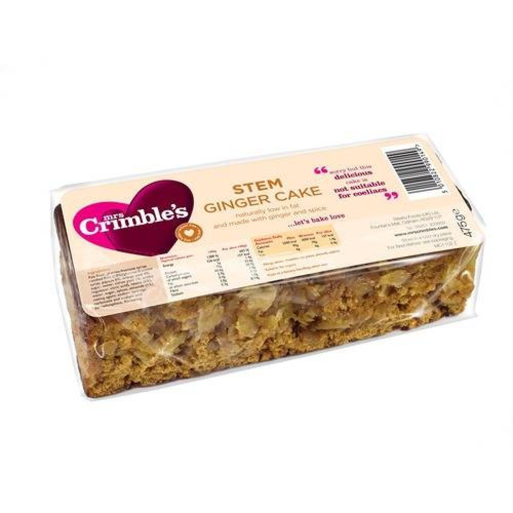 Mrs Crimbles Stem Ginger cake 500g