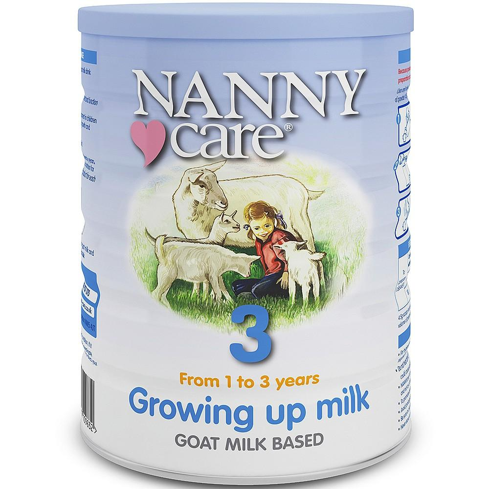 Nanny Care Stage Three Growing Up Milk 900 g
