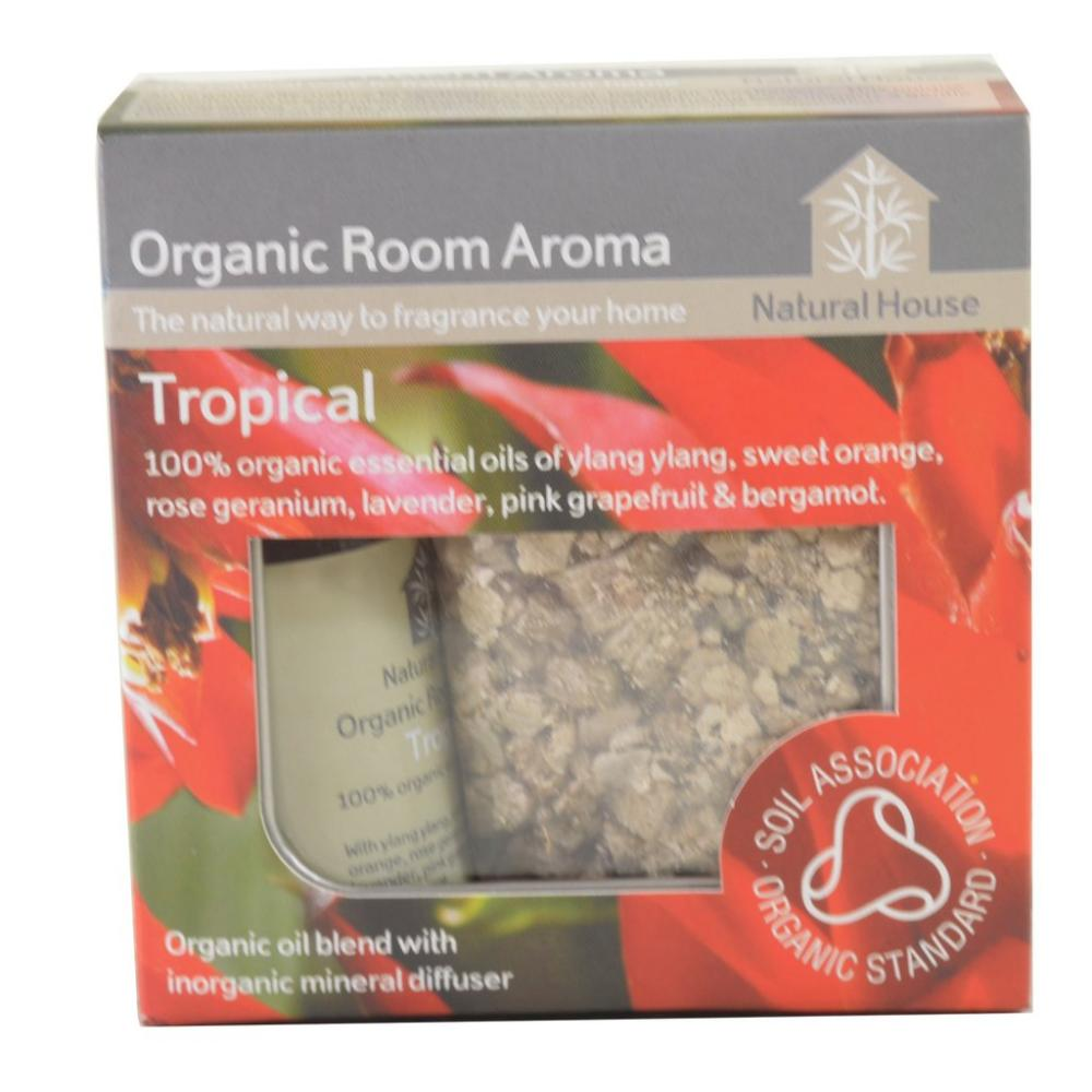 Natural House Organic Room Aroma Tropical 20ml