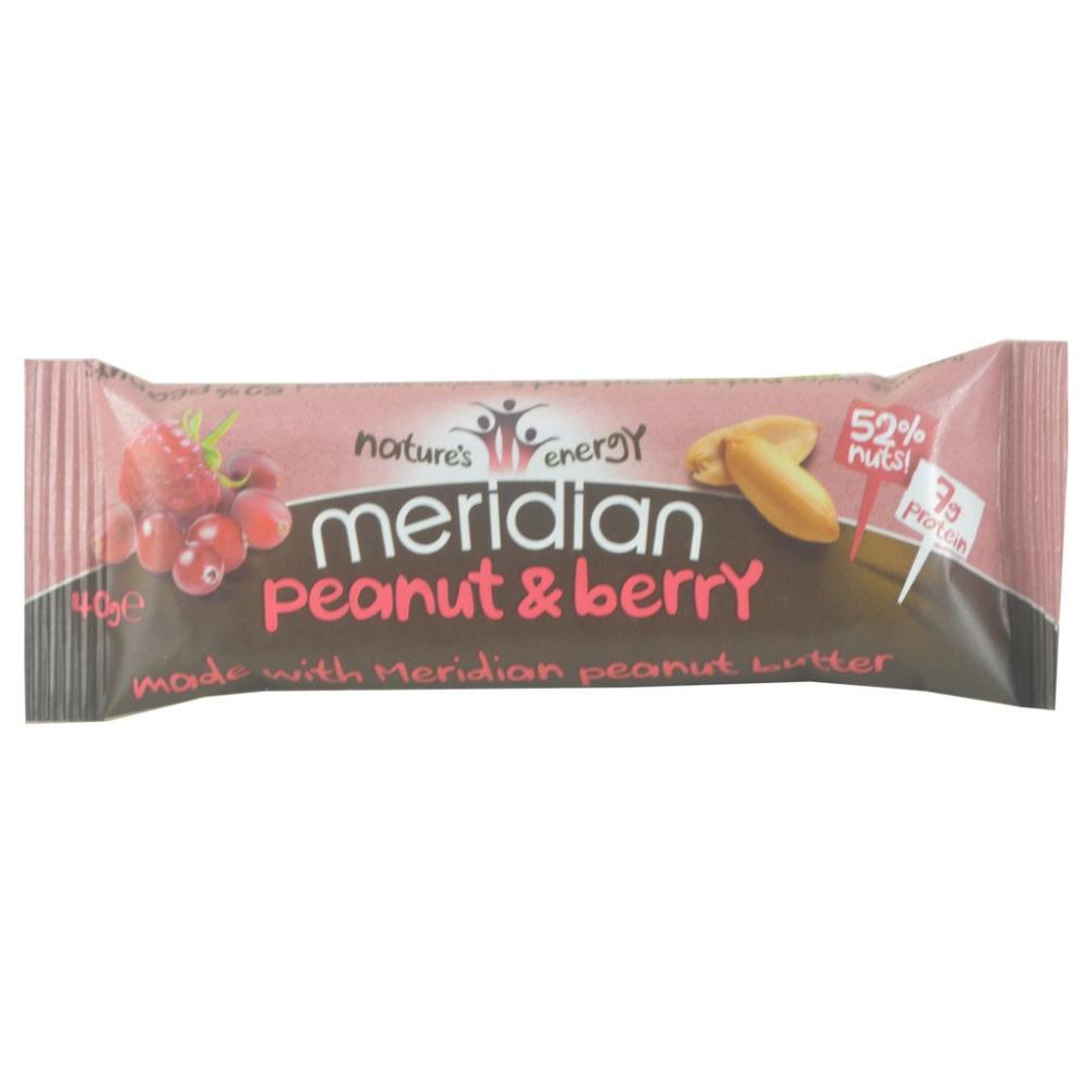 Natures Energy Meridian Peanut And Berry 40g