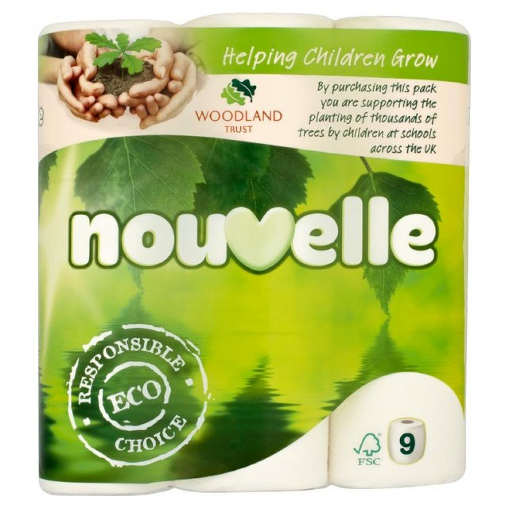 Nouvelle Soft Toilet Roll 9 Pack