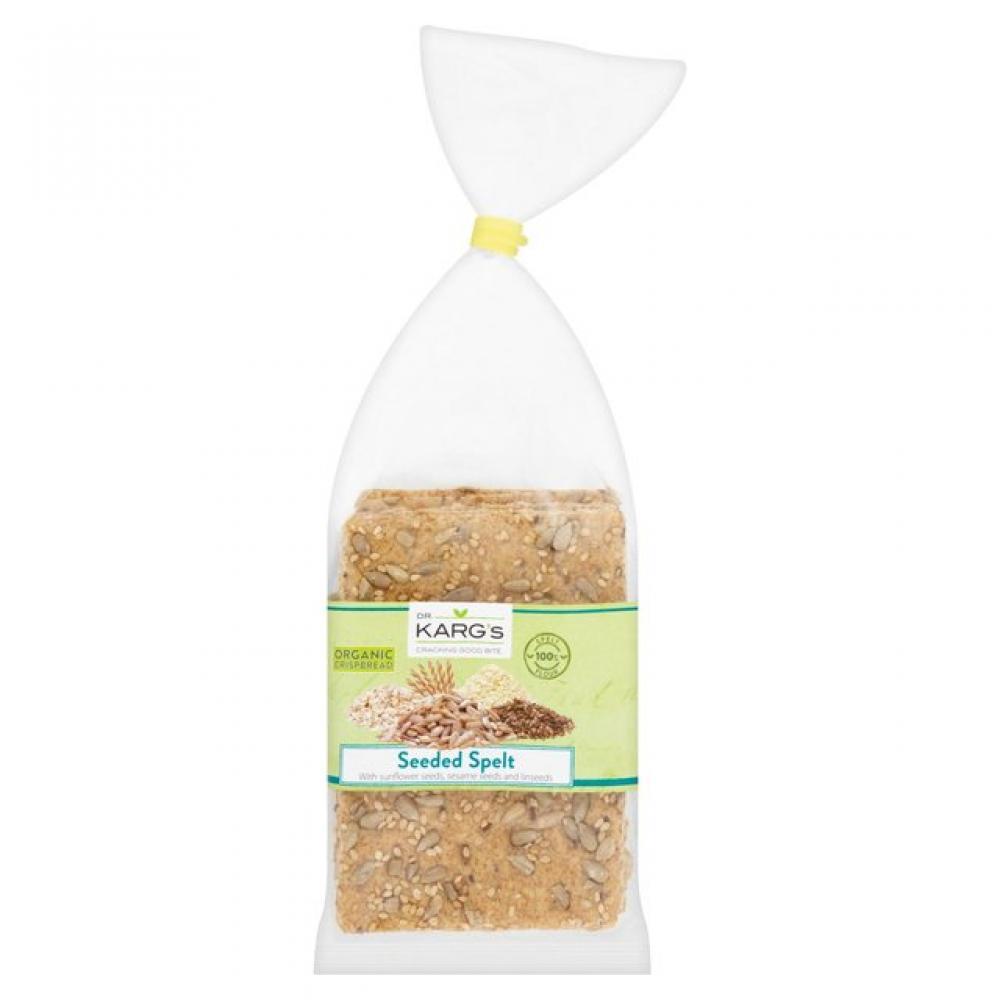 Dr Kargs Organic Crispbread Seeded Spelt 200g