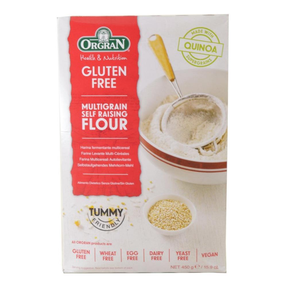 Orgran Gluten Free Multigrain Self Raising Flour 450g