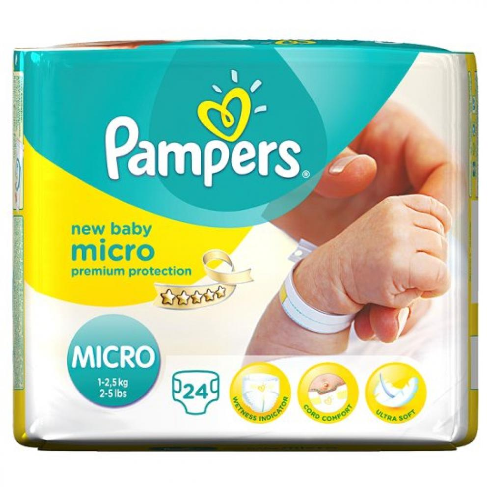 Pampers New Baby Nappies Size 0 pack of 24