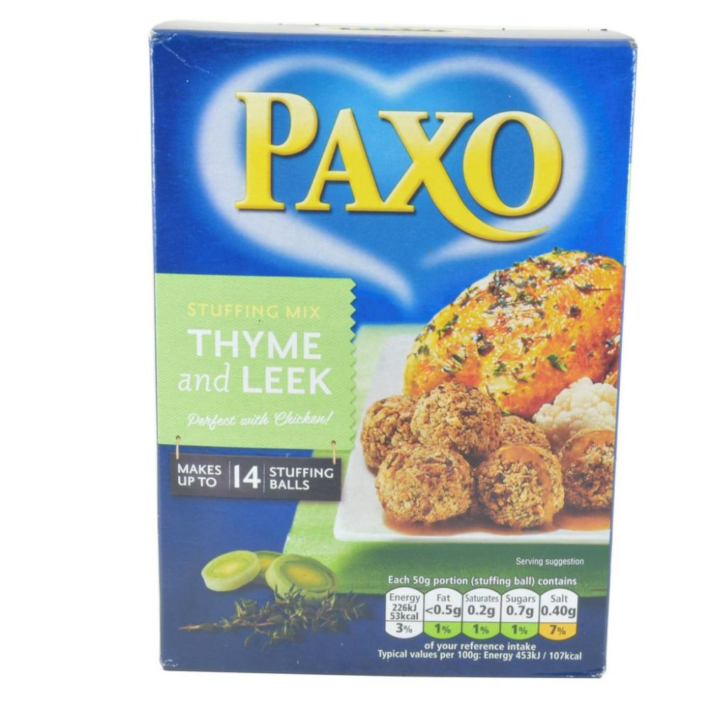 Paxo Stuffing Mix Thyme And Leek 190g