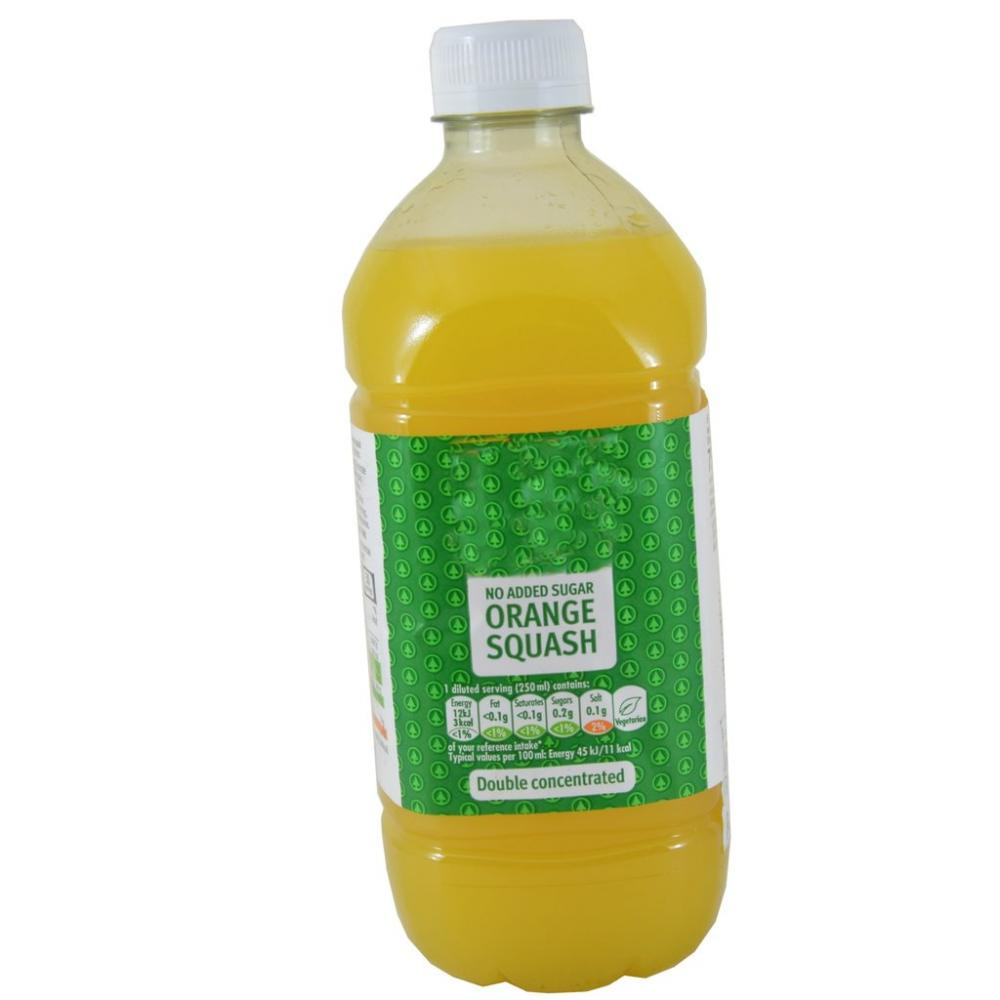 Perfectly Good Orange Squash Double Concentrated 750ml