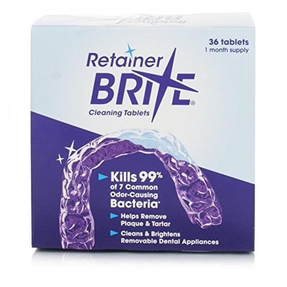 Retainer Brite Cleaning Tablets 96 tablets