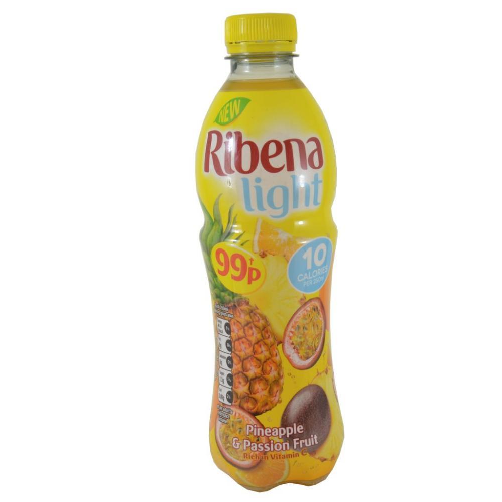 Ribena Light Pineapple And Passion Fruit 500ml
