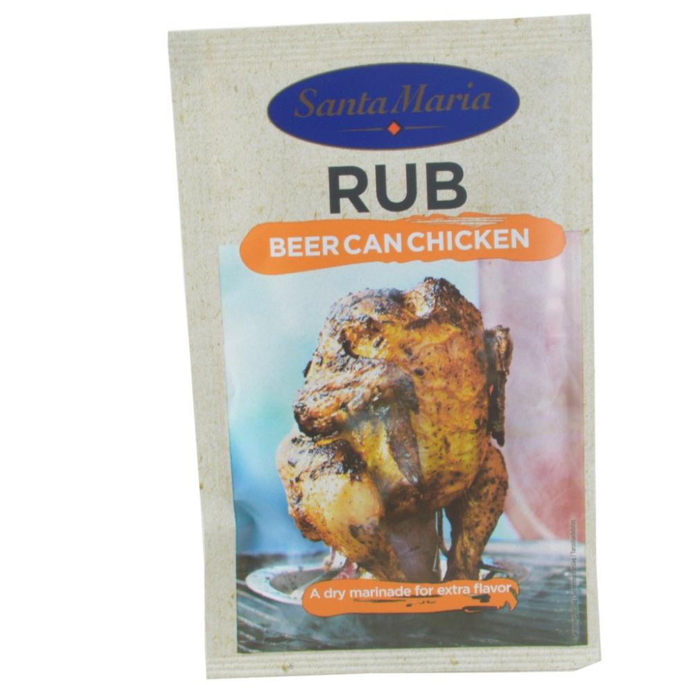Santa Maria Rub Beer Can Chicken 30g