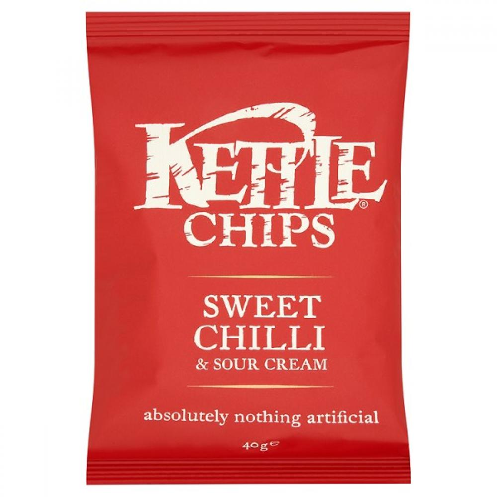 Kettle Chips Sweet Chilli and Sour Cream Flavour 40g