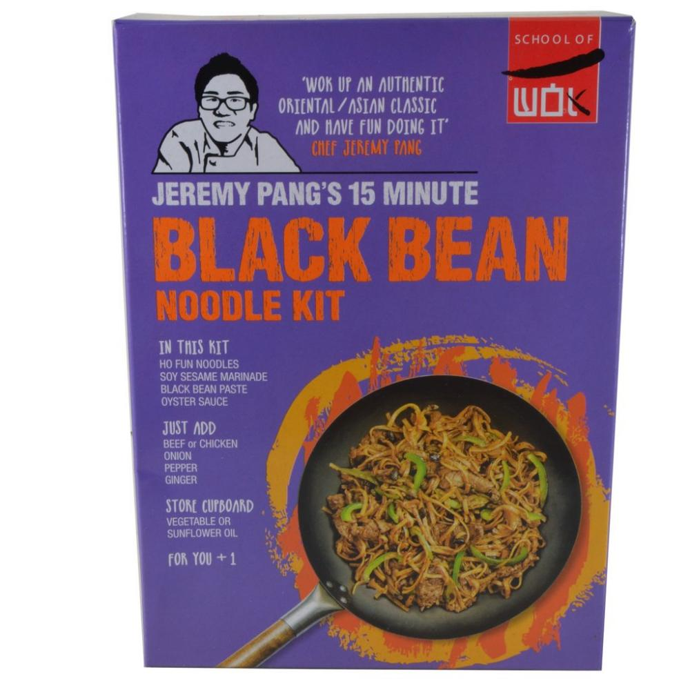 School Of Wok Black Bean Noodle Kit 240g