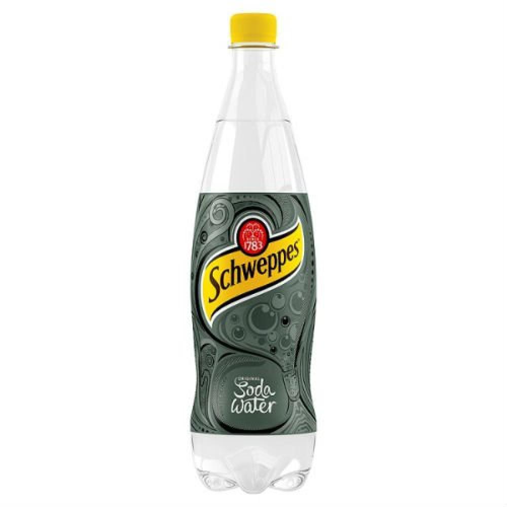 Schweppes Soda Water 1 Litre