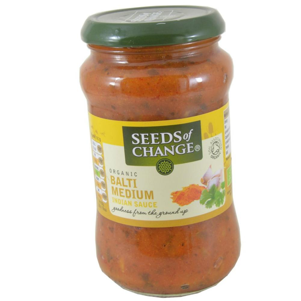 Seeds of Change Organic Balti Medium Indian Sauce 350g