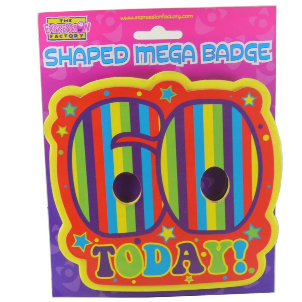 The Expression Factory Shaped Mega Badge 60 Today