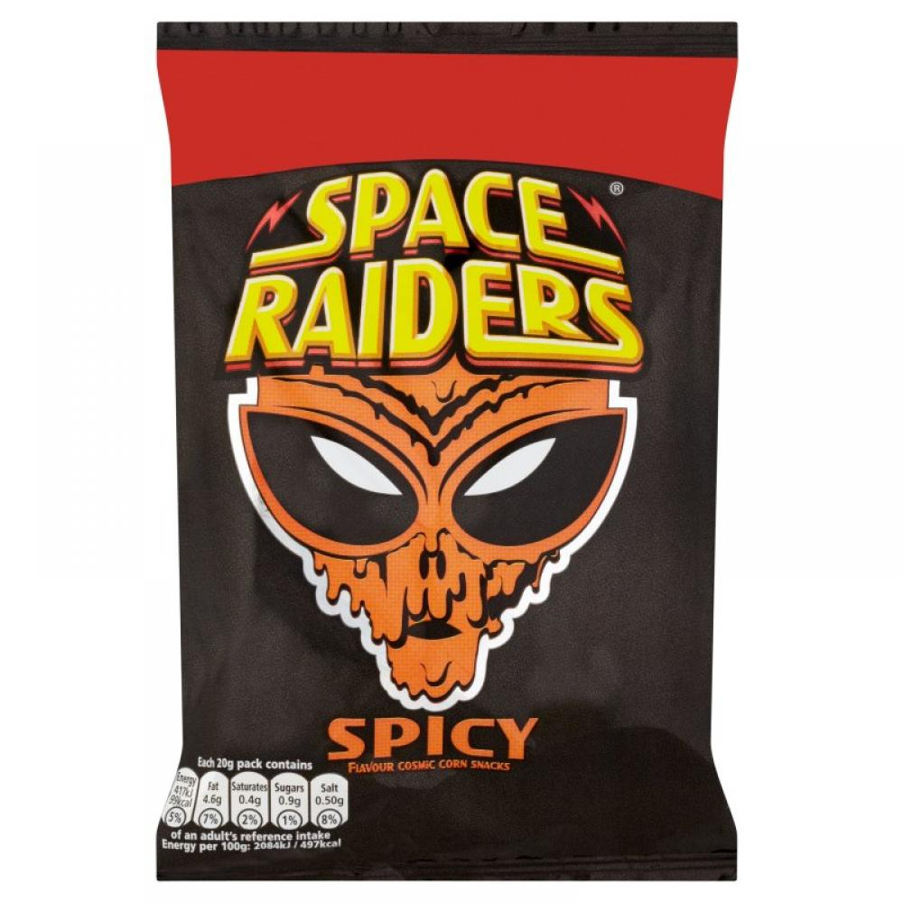 Space Raiders Spicy Flavour 20g