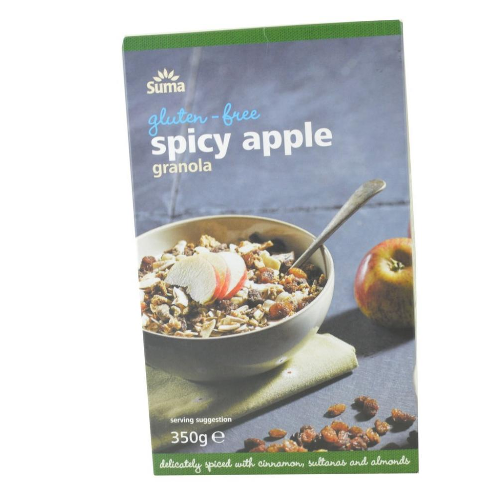 Suma Gluten Free Spicy Apple Granola 350g