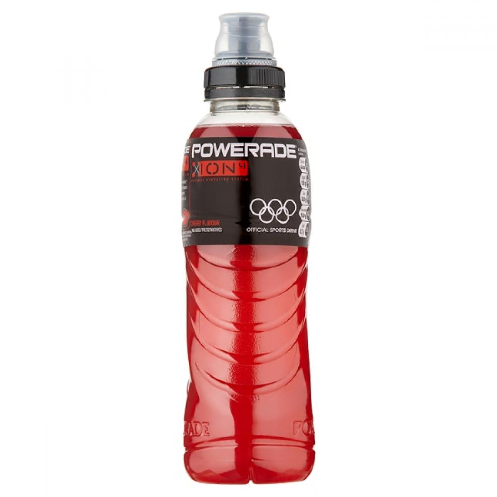 Powerade Cherry Flavour Isotonic Drink 500ml