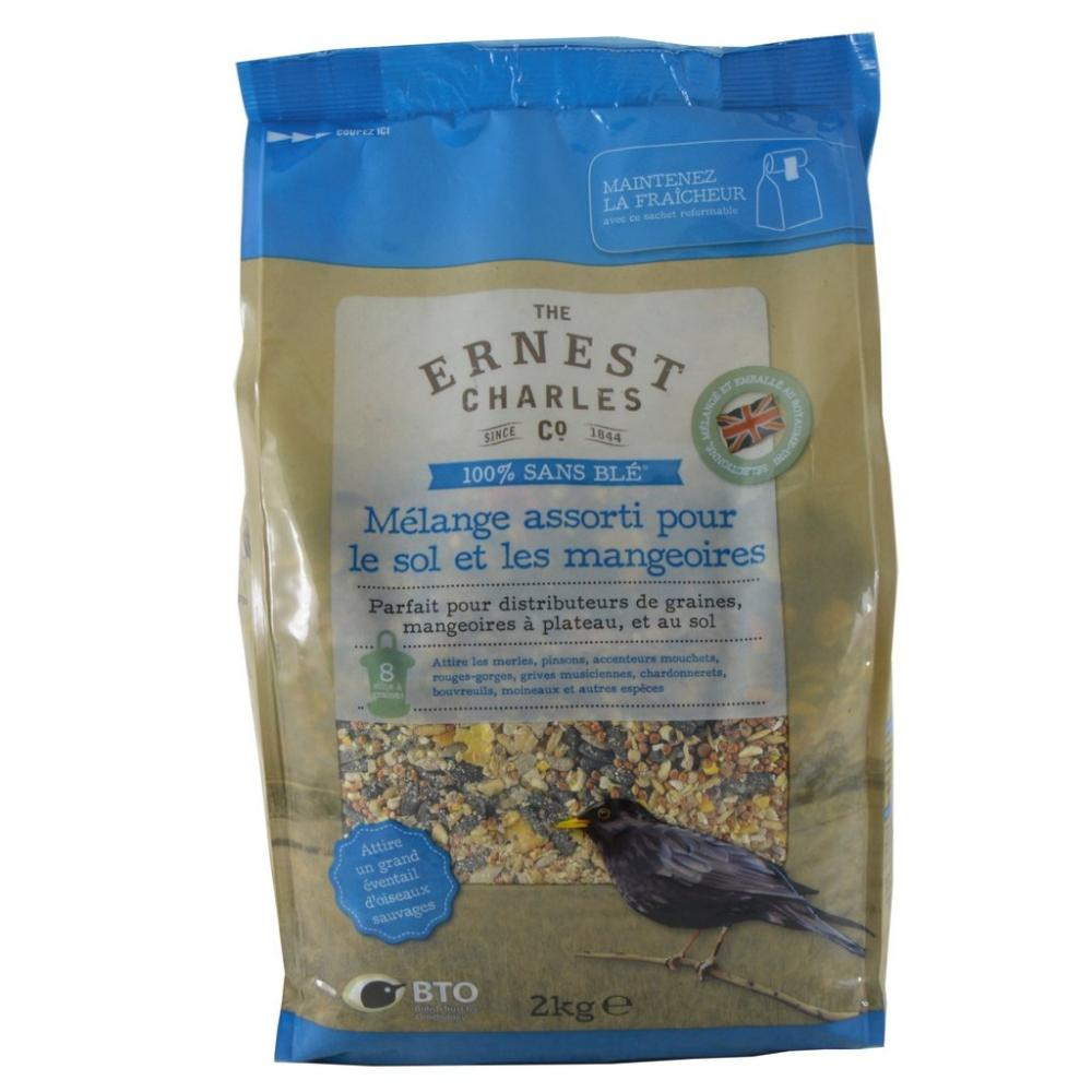 The Ernest Charles Co Ground And Table Blend Bird Feed 2kg