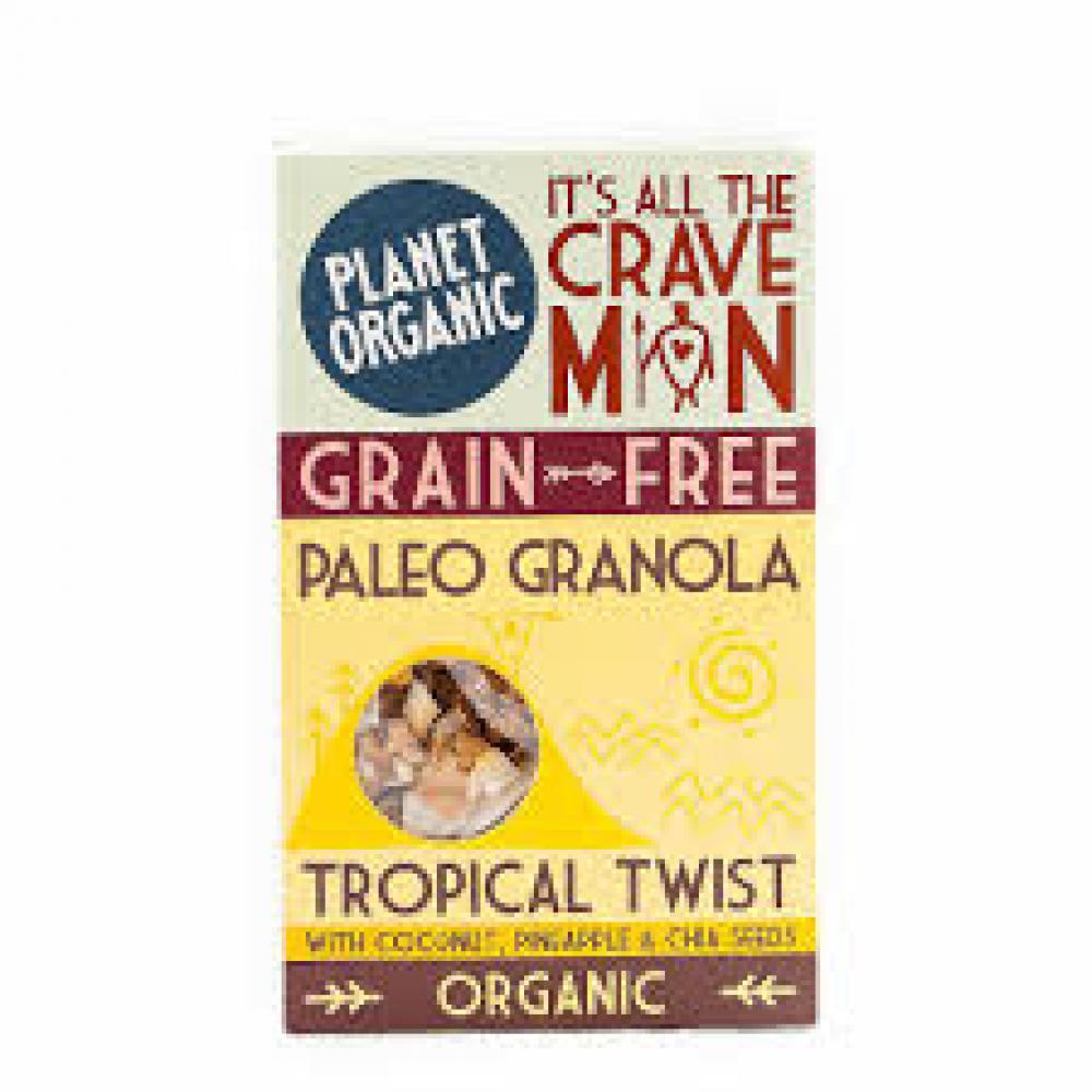 Planet Organic Tropical Twist Paleo Granola 350g