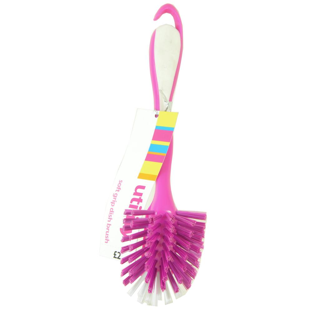 Utility Utility Soft Grip Dish Brush