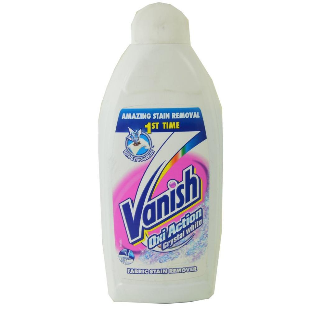 Vanish Oxi Action Crystal White Fabric Stain Remover 450ml
