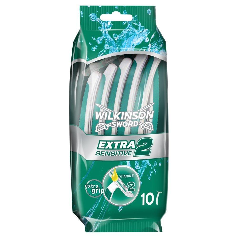 Wilkinson Sword Extra 2 Sensitive Razors 10 Pack