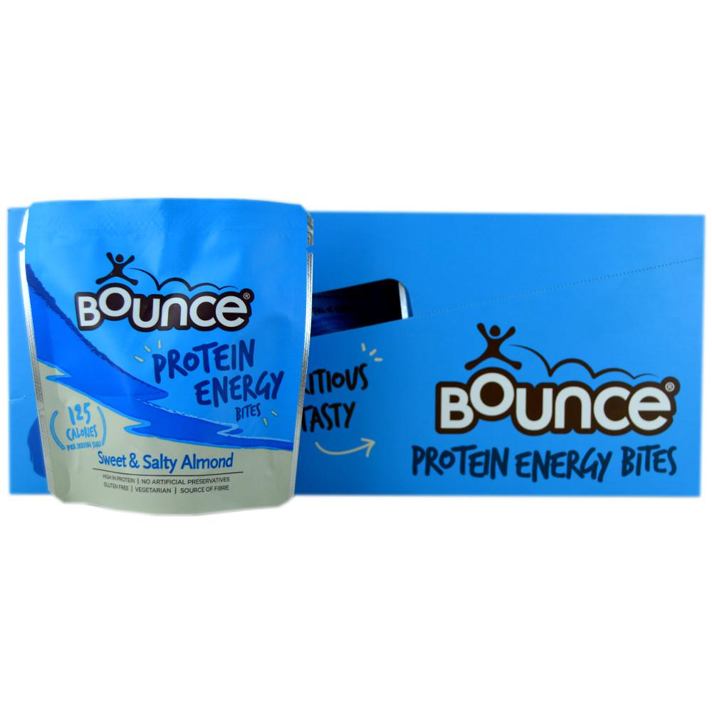 CASE PRICE  Bounce Sweet and Salty Almond Protein Energy Bites 30g x 10
