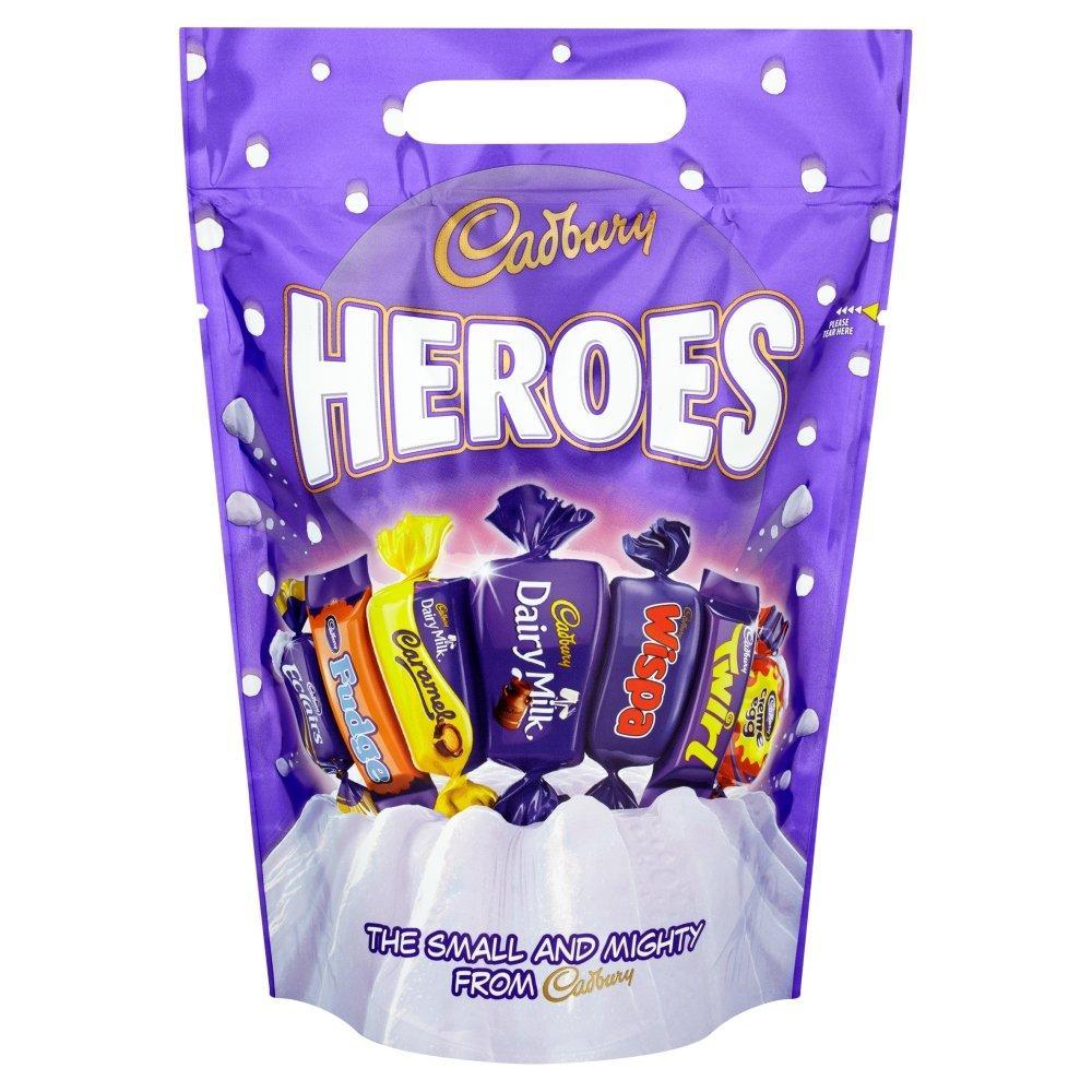 Cadbury Heroes Chocolate Pouch 500 g