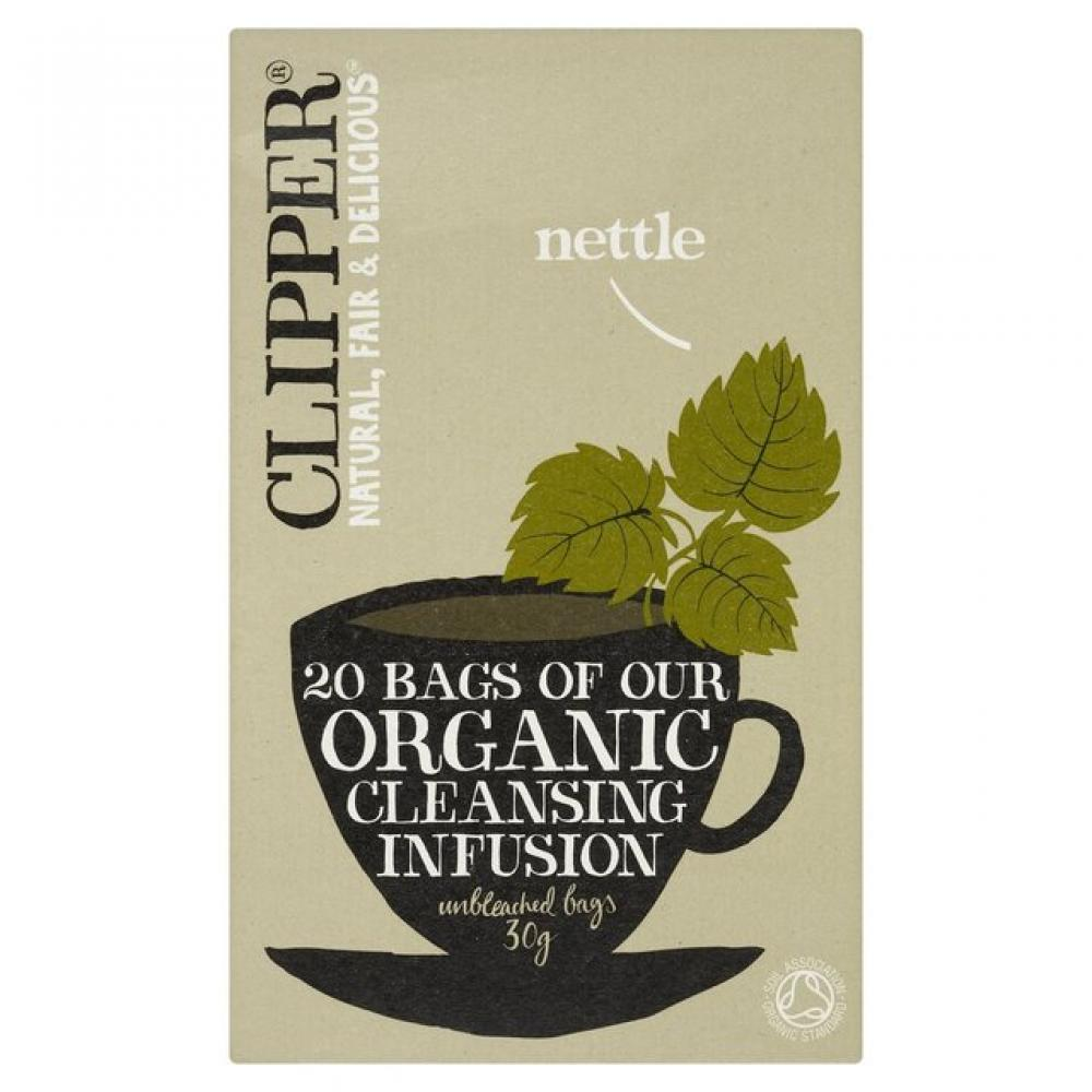 Clipper Organic Nettle Herbal Infusion 20 Teabags