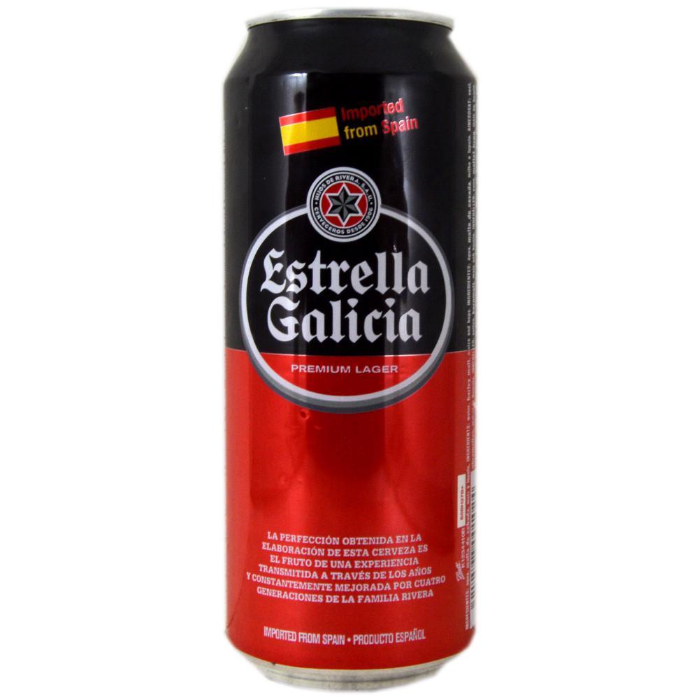 Estrella Galicia Premium Lager 500ml