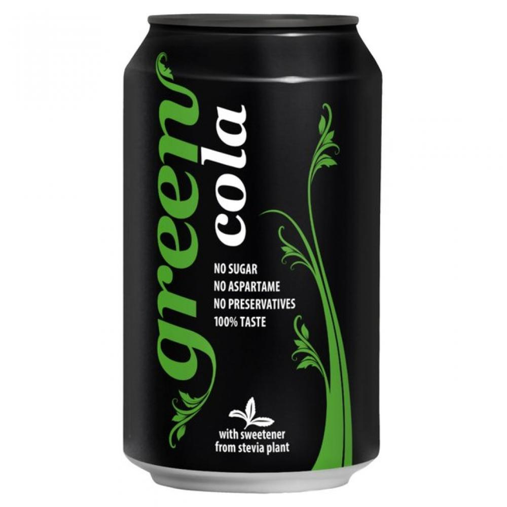 Green Cola Can 330 ml