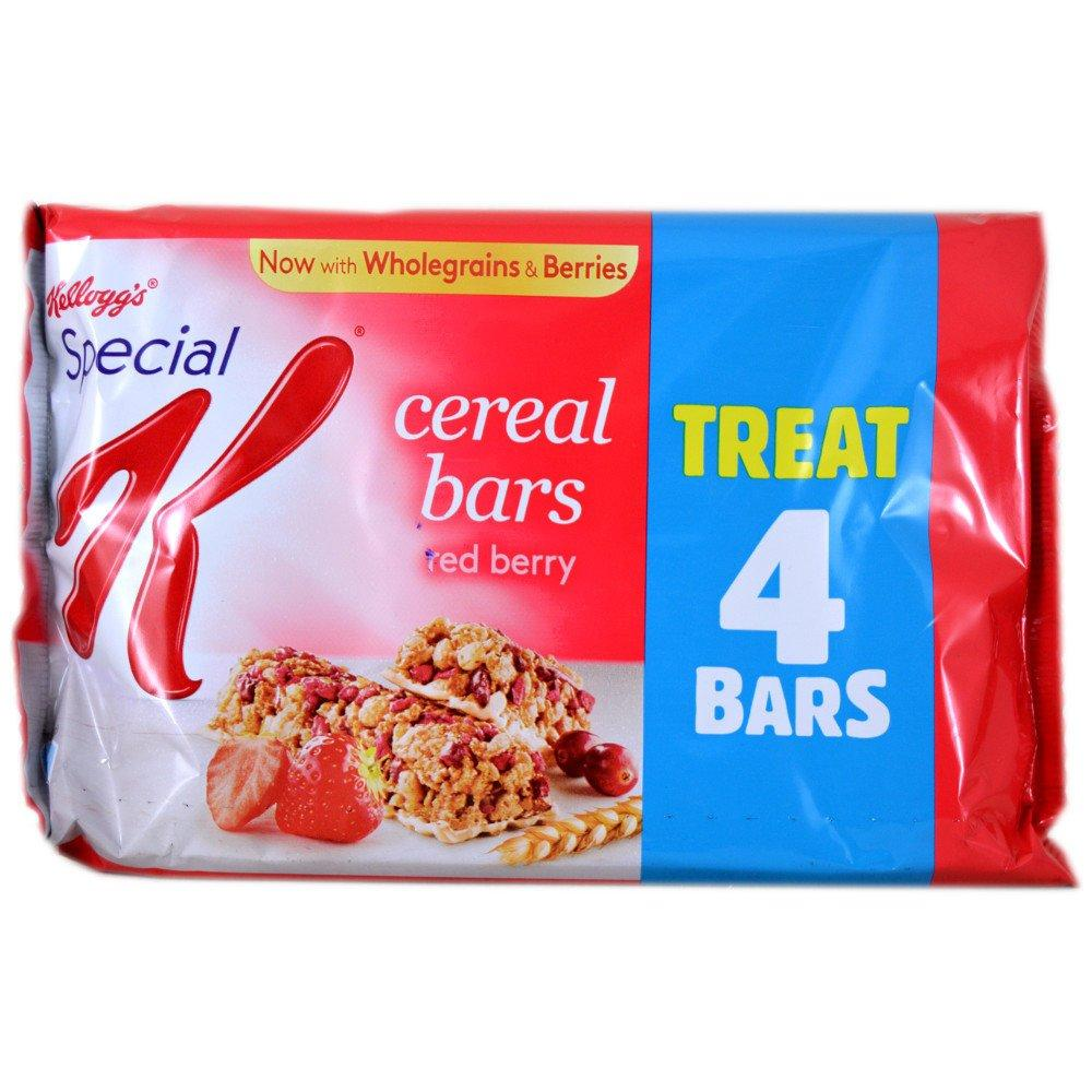 Kelloggs Special K Cereal Bars Red Berry 21.5g x 4 21.5g x 4