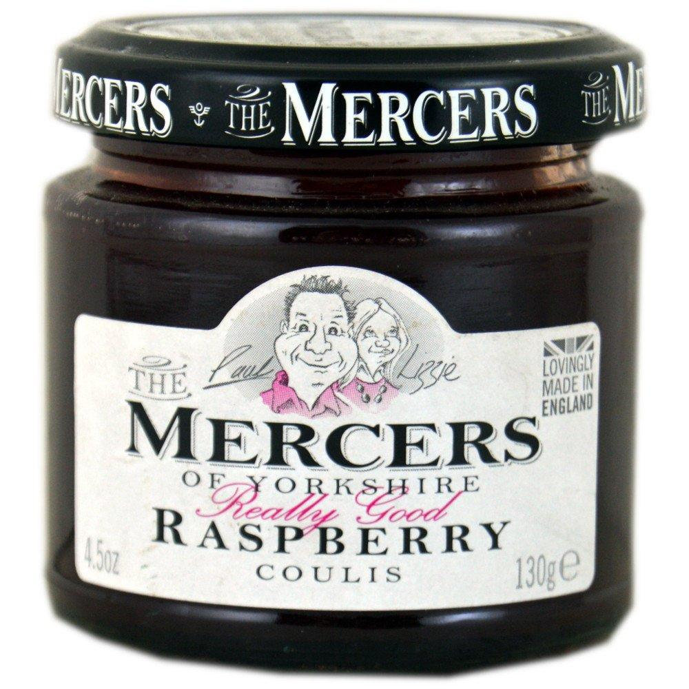 Mercers Raspberry Coulis 130g