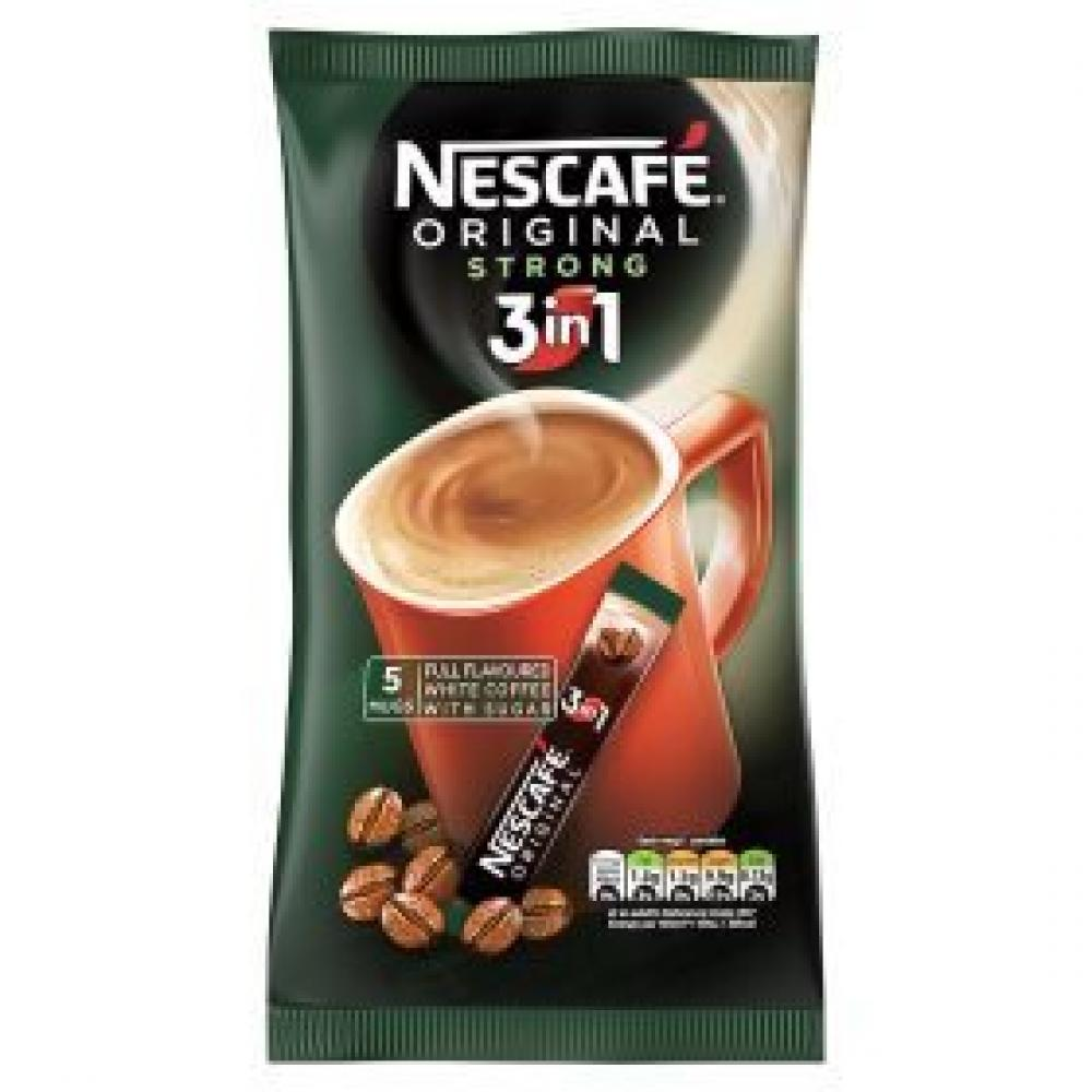 Nescafe Original Strong 3in1 5mugs