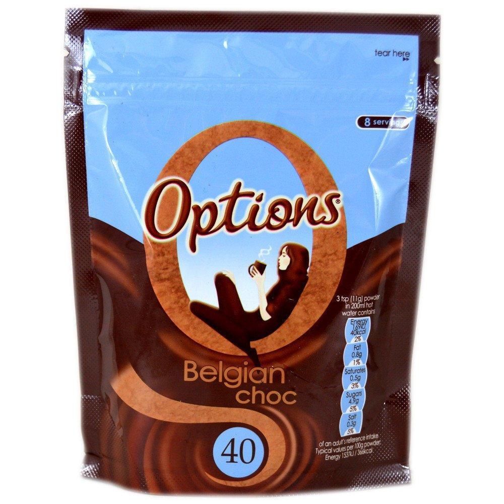 Options Belgian Choc 88g