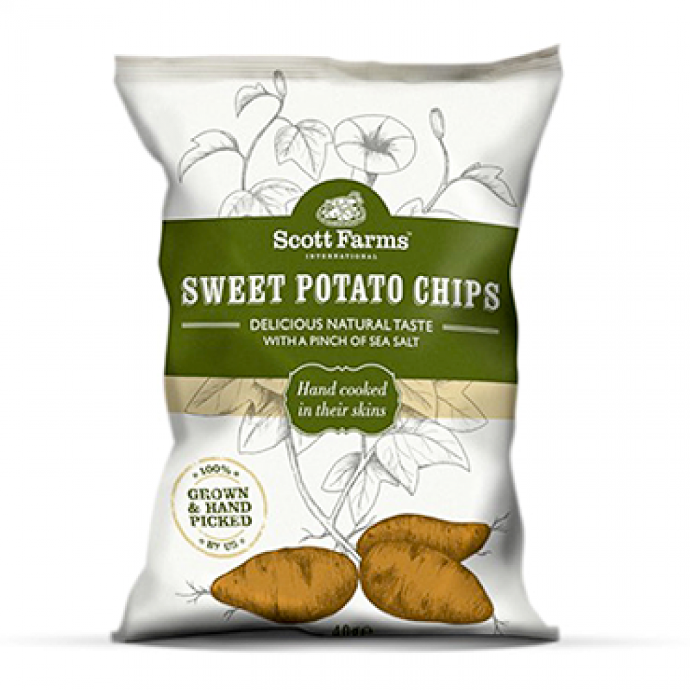 Scott Farms Sweet Potato Chips 100g