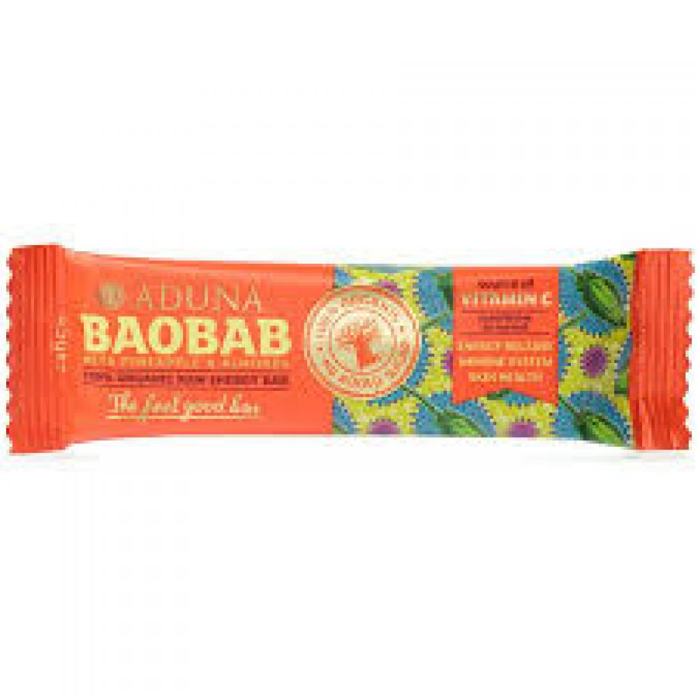 Aduna Organic Baobab Raw Energy Bar 45 g