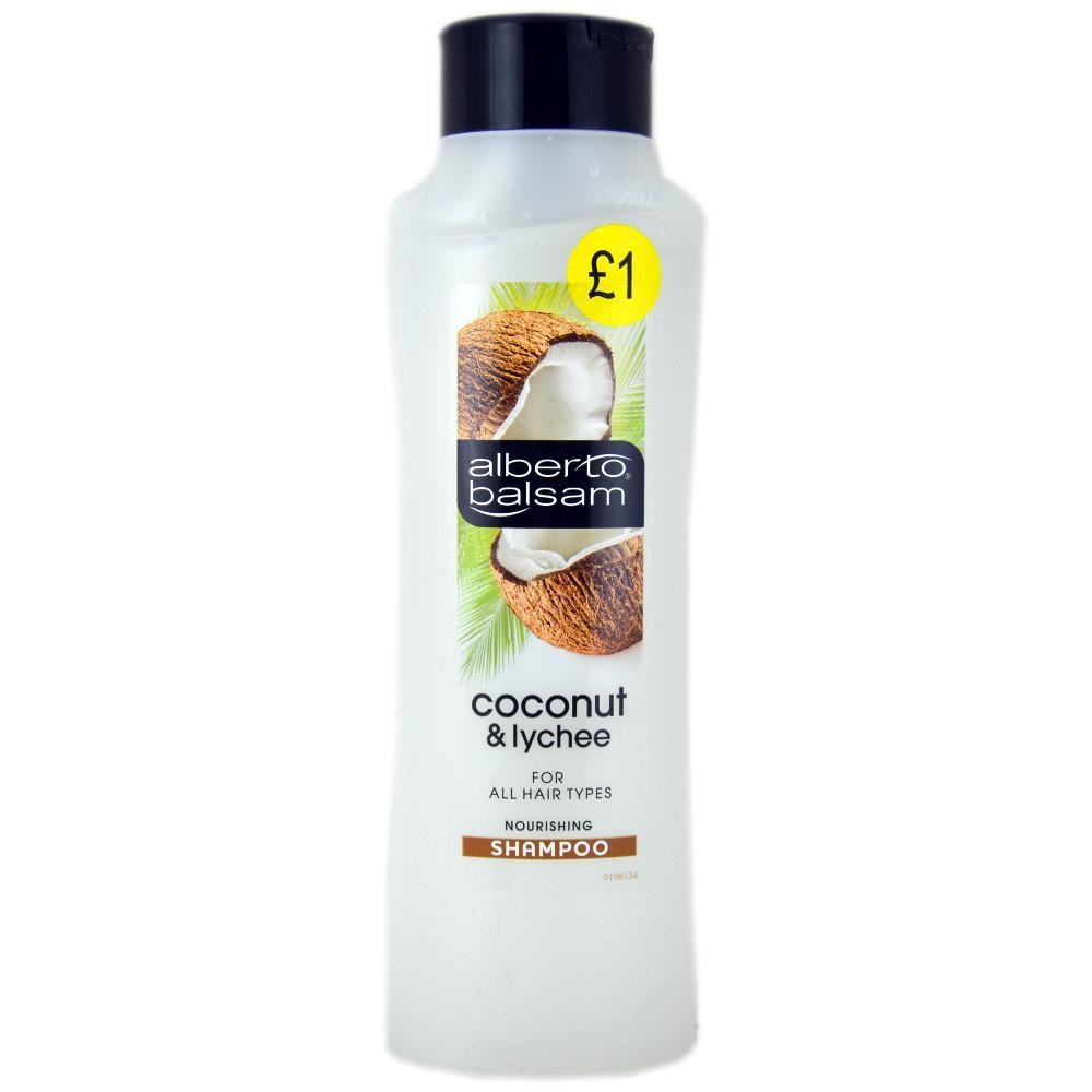 Alberto Balsam Coconut and Lychee Shampoo 350ml 350ml 350ml
