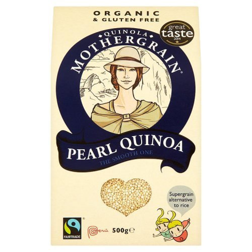 Alice And Oscars Organic and Gluten Free Quinoa Mothergrain Pearl Quinoa 500g