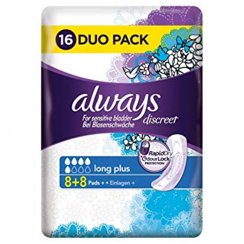 Always Discreet For Sensitive Bladder 16 Pads