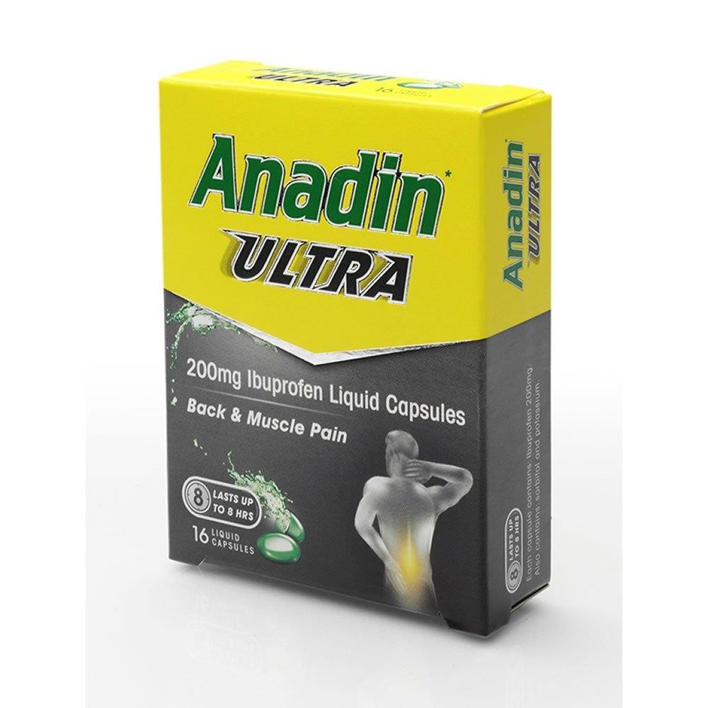 Anadin Ultra Capsules 16 pack