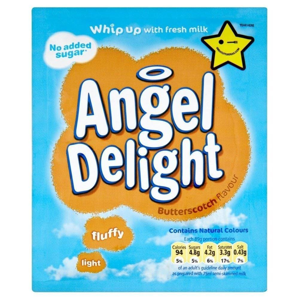 Angel Delight Butterscotch Flavour Dessert Mix with No Added Sugar 47g