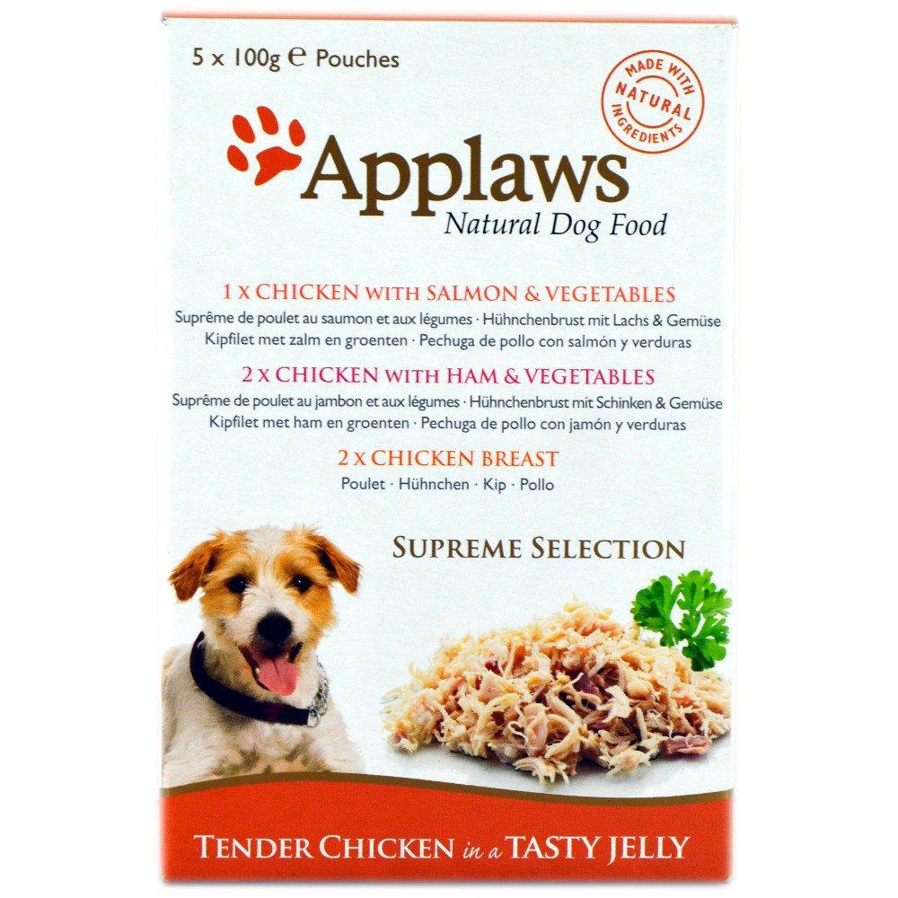 Applaws Natural Dog Food Supreme Selection 100g x 5