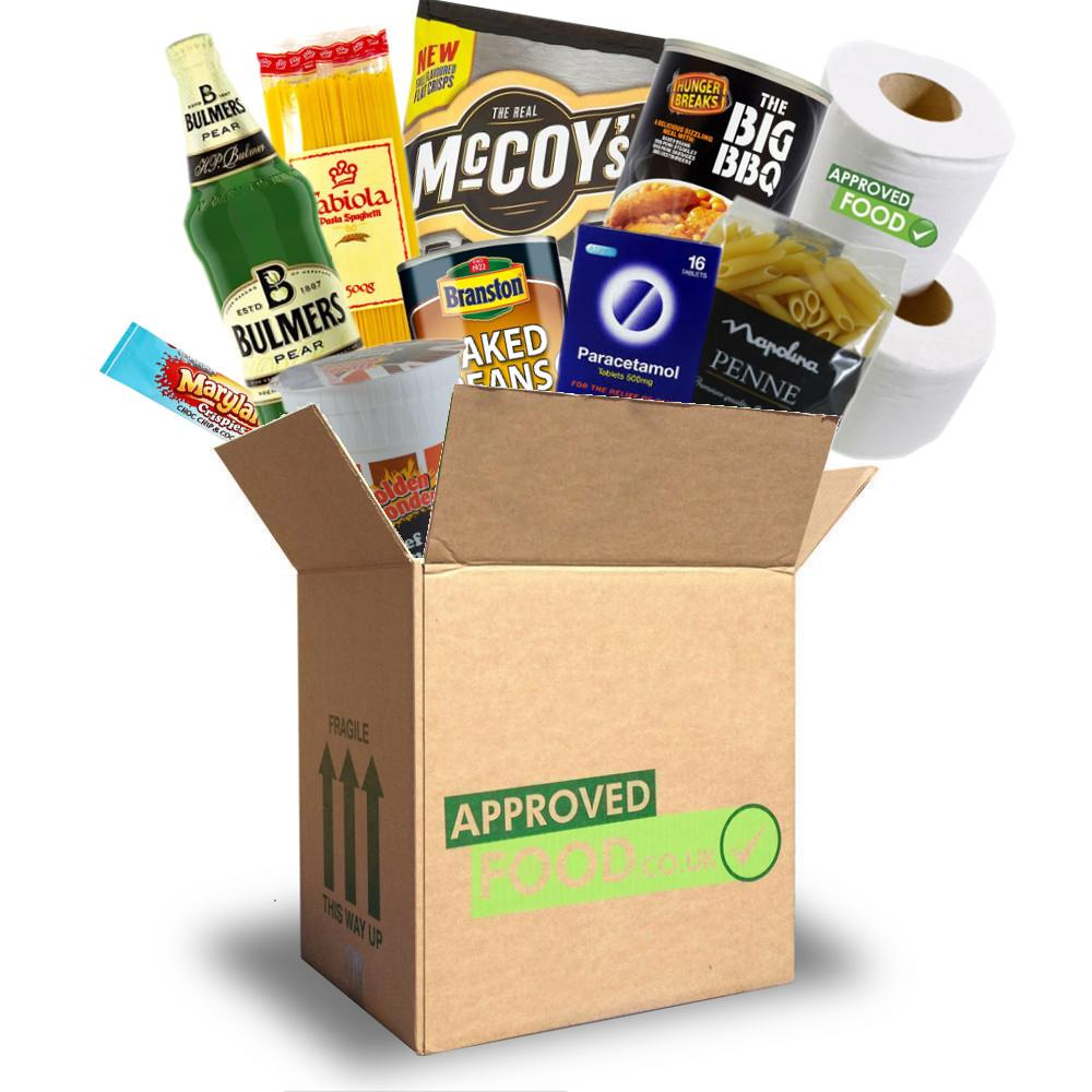 Approved Food University Survival Box