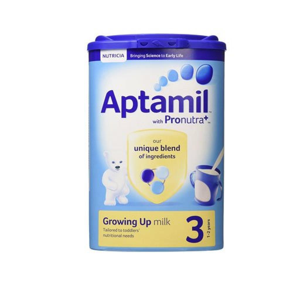 Aptamil Aptamil With Pronutra 3 Growing Up Milk 1-2 Years 900g