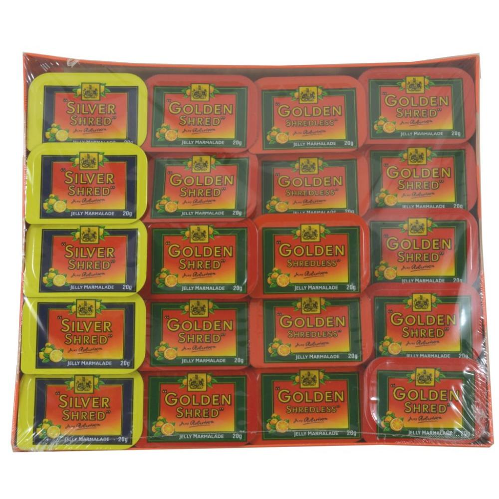 Robertsons Assorted Marmalade 20 x 20g