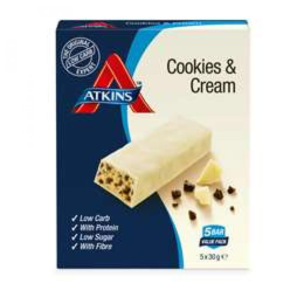 Atkins Cookies and Cream 5x30g