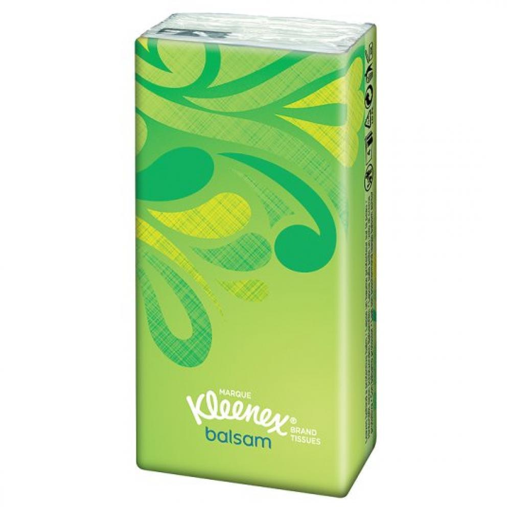 Kleenex Balsam Pocket Pack Tissues 8pack